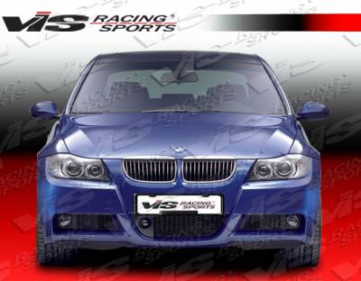 3 Series 4Dr - Front Bumper - VIS Racing - BMW 3 Series VIS Racing M Tech Front Bumper - 06BME904DMTH-001