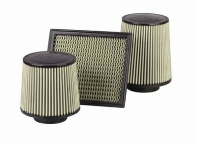 Air Intakes - Oem Air Intakes - aFe - Ford F250 aFe MagnumFlow Pro-Guard 7 OE Replacement Air Filter - 73-10005