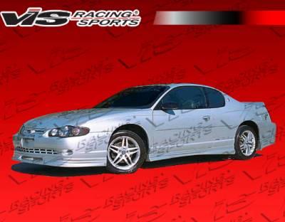 Monte Carlo - Front Bumper - VIS Racing - Chevrolet Monte Carlo VIS Racing Race Front Lip - 06CHMON2DRAC-011