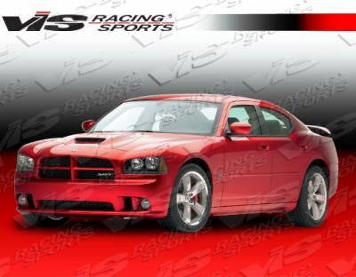 Charger - Front Bumper - VIS Racing - Dodge Charger VIS Racing SRT Front Bumper - 06DGCHA4DSRT-001