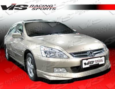 Accord 4Dr - Front Bumper - VIS Racing - Honda Accord 4DR VIS Racing V Spec Front Lip - 06HDACC4DVSC-011