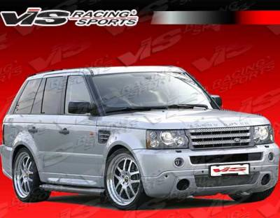 Range Rover - Front Bumper - VIS Racing - Land Rover Range Rover VIS Racing Astek Front Lip - 06LRRRS4DAST-011