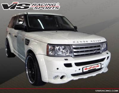 Range Rover - Front Bumper - VIS Racing - Land Rover Range Rover VIS Racing Euro Tech Front Bumper - 06LRRRS4DET-001