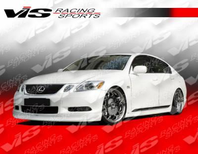 GS - Front Bumper - VIS Racing - Lexus GS VIS Racing VIP Front Lip - 06LXGS34DVIP-011