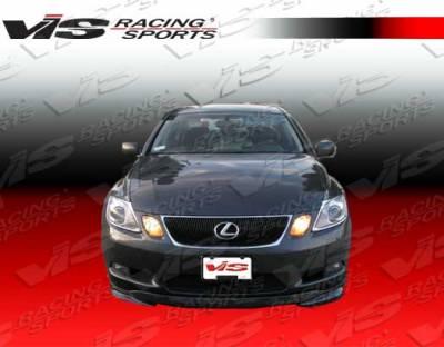 GS - Front Bumper - VIS Racing - Lexus GS VIS Racing VIP-2 Front Lip - 06LXGS34DVIP2-011
