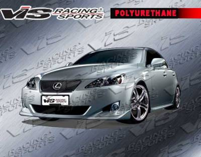 IS - Front Bumper - VIS Racing. - Lexus IS VIS Racing Techno R Front Lip - 06LXIS34DTNR-011P