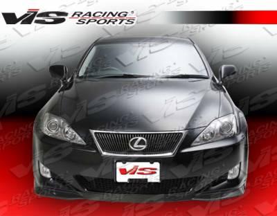IS - Front Bumper - VIS Racing - Lexus IS VIS Racing VIP Type-2 Front Lip - 06LXIS34DVIP2-011