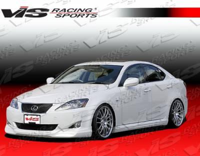 IS - Front Bumper - VIS Racing - Lexus IS VIS Racing Wings Front Lip - 06LXIS34DWIN-011