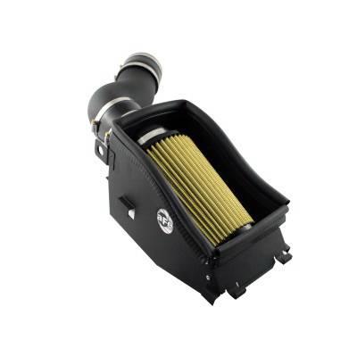 Air Intakes - Oem Air Intakes - aFe - Ford F350 aFe MagnumForce Pro-Guard 7 Stage 2 Air Intake System - 75-10062