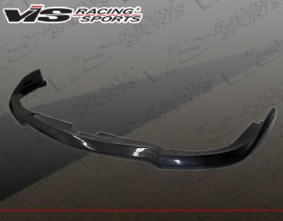 WRX - Front Bumper - VIS Racing - Subaru WRX VIS Racing STI Carbon Fiber Lip STI Style - 06SBWRX4DSTI-011C