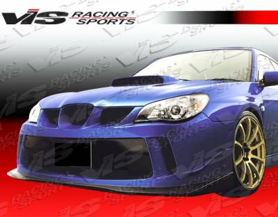 WRX - Front Bumper - VIS Racing - Subaru WRX VIS Racing Z Sport Front Bumper - 06SBWRX4DZST-001