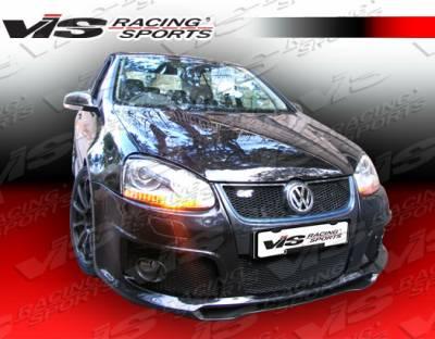 Golf - Front Bumper - VIS Racing - Volkswagen Golf VIS Racing C-Tech Front Bumper - 06VWGOF2DCTH-001