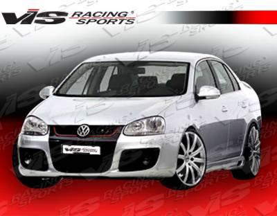 Jetta - Front Bumper - VIS Racing - Volkswagen Jetta VIS Racing C Tech Front Bumper - 06VWJET4DCTH-001