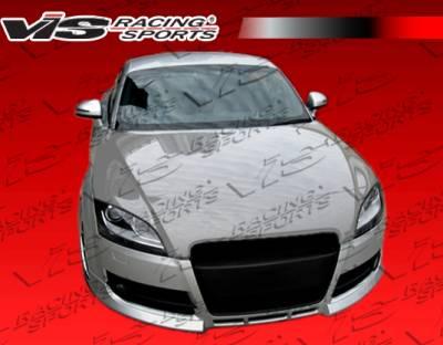 TT - Front Bumper - VIS Racing. - Audi TT VIS Racing OS Front Lip - 07AUTT2DOS-011