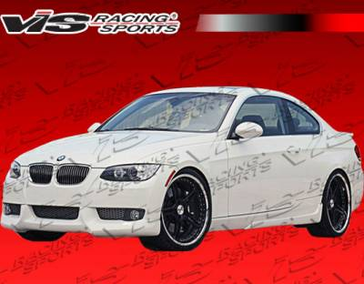 3 Series 4Dr - Front Bumper - VIS Racing - BMW 3 Series VIS Racing A Tech Front Lip - 07BME922DATH-011
