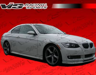 3 Series 4Dr - Front Bumper - VIS Racing - BMW 3 Series VIS Racing Euro Tech Front Lip - 07BME922DET-011