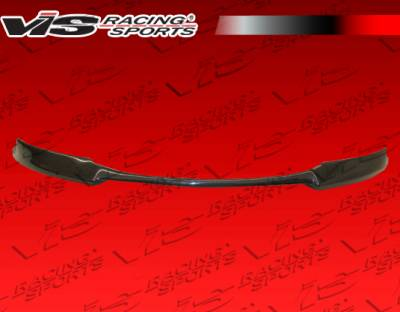 3 Series 2Dr - Front Bumper - VIS Racing - BMW 3 Series 2DR VIS Racing XTS Carbon Fiber Front Lip - 07BME92M32DXTS-011C