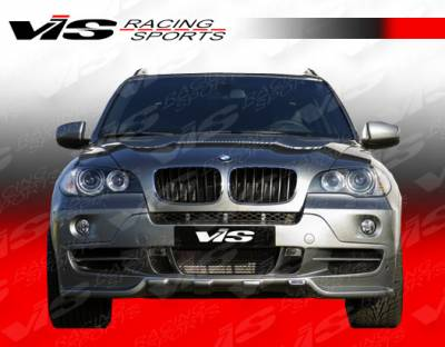 X5 - Front Bumper - VIS Racing - BMW X5 VIS Racing Euro Tech Front Lip - 07BMX54DET-011