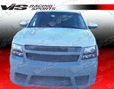 Avalanche - Front Bumper - VIS Racing - Chevrolet Avalanche VIS Racing VIP Front Bumper - 07CHAVA4DVIP-001