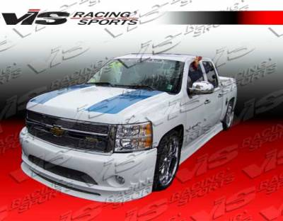 Avalanche - Front Bumper - VIS Racing - Chevrolet Avalanche VIS Racing Viper Front Bumper - 07CHAVA4DVR-001