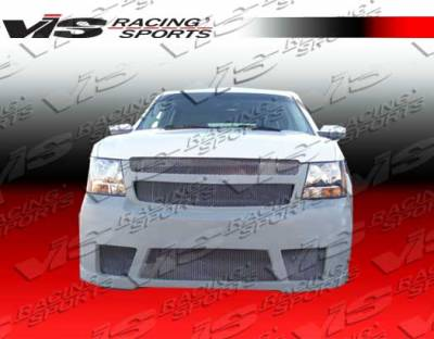 Suburban - Front Bumper - VIS Racing - Chevrolet Suburban VIS Racing VIP Front Bumper - 07CHSUB4DVIP-001