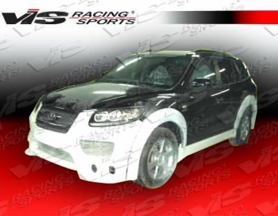 Santa Fe - Front Bumper - VIS Racing - Hyundai Santa Fe VIS Racing Outcast Front Bumper - 07HYSAN4DOC-001