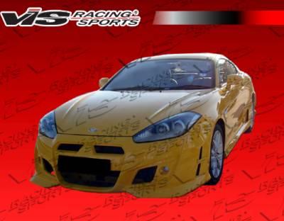 Tiburon - Front Bumper - VIS Racing - Hyundai Tiburon VIS Racing Tornado Front Bumper - 07HYTIB2DTND-001