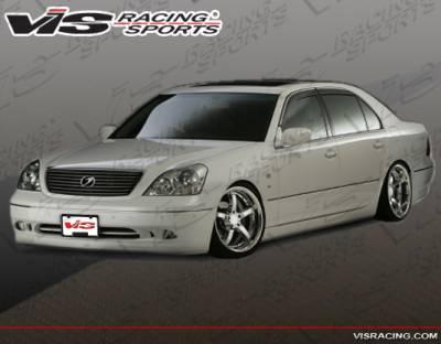 LS400 - Front Bumper - VIS Racing. - Lexus LS VIS Racing ACT Front Lip - 07LXLS44DACT-011