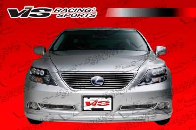 LS400 - Front Bumper - VIS Racing - Lexus LS VIS Racing VIP Front Lip - 07LXLS44DVIP-011