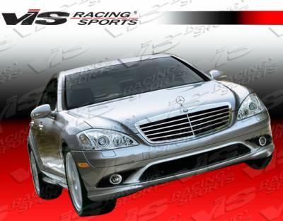 S Class - Front Bumper - VIS Racing - Mercedes-Benz S Class VIS Racing Euro Tech Front Bumper - 07MEW2214DET-001