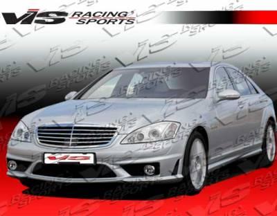 S Class - Front Bumper - VIS Racing - Mercedes-Benz S Class VIS Racing Euro Tech 65 Style Front Bumper - 07MEW2214DET65-001