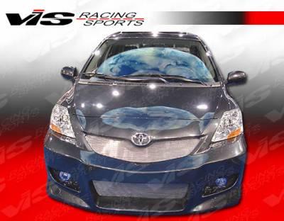 Yaris - Front Bumper - VIS Racing - Toyota Yaris VIS Racing VIP Front Bumper - 07TYYAR4DVIP-001