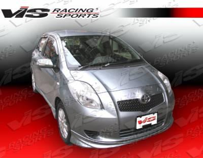 Yaris - Front Bumper - VIS Racing - Toyota Yaris VIS Racing JDM Racing Series Front Lip - 07TYYARHBRS-011