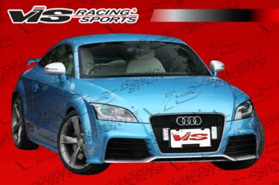 TT - Front Bumper - VIS Racing - Audi TT VIS Racing RS Add-On Front Lip - 08AUTT2DRS-011