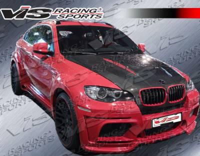 X6 - Front Bumper - VIS Racing. - BMW X6 VIS Racing EVO GT Front Bumper - Carbon Fiber - 08BME714DEGT-001
