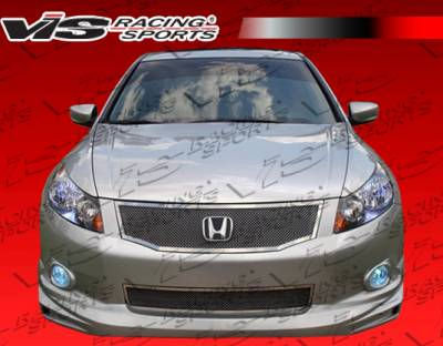 Accord 4Dr - Front Bumper - VIS Racing. - Honda Accord 4DR VIS Racing Techno R Front Lip - 08HDACC4DTNR-011