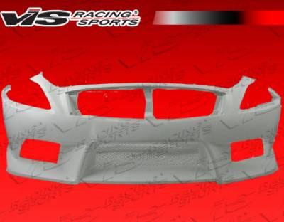 G37 - Front Bumper - VIS Racing - Infiniti G37 VIS Racing CTX Front Bumper - 08ING372DCTX-001