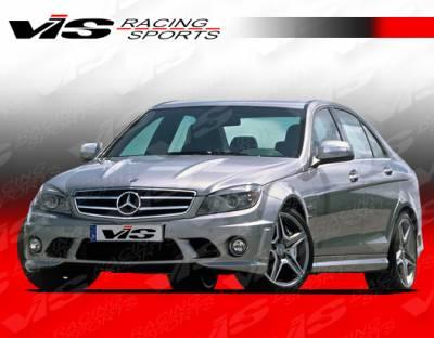 C Class - Front Bumper - VIS Racing - Mercedes-Benz C Class VIS Racing OEM Front Bumper - 08MEC634DOE-001