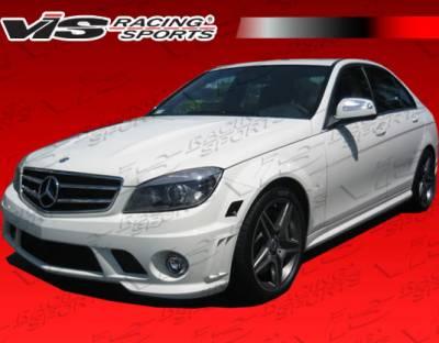 C Class - Front Bumper - VIS Racing - Mercedes-Benz C Class VIS Racing C63 Front Bumper - 08MEW2044DC63-001