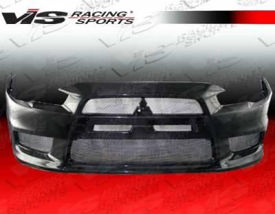 Lancer - Front Bumper - VIS Racing. - Mitsubishi Lancer VIS Racing OEM Front Bumper - 08MTEV104DOE-001