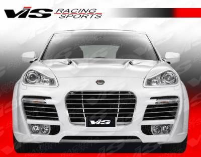 Cayenne - Front Bumper - VIS Racing - Porsche Cayenne VIS Racing A Tech Front Bumper - 08PSCAY4DATH-001