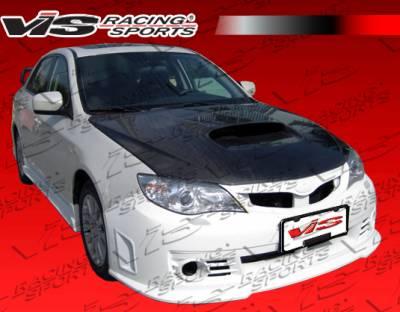 WRX - Front Bumper - VIS Racing - Subaru WRX VIS Racing Rally Front Bumper - 08SBWRX4DSTI-001