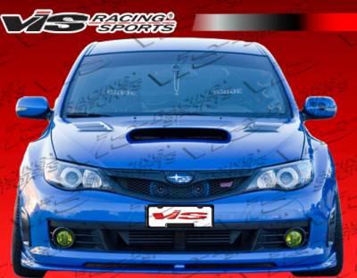 WRX - Front Bumper - VIS Racing - Subaru WRX VIS Racing Z-Speed Front Lip - 08SBWRX4DZSP-011
