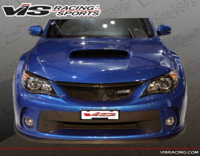 WRX - Front Bumper - VIS Racing. - Subaru WRX VIS Racing Z Sport Front Bumper - 08SBWRX4DZST-001