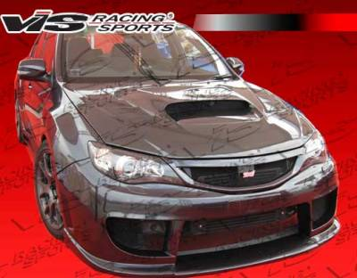 WRX - Front Bumper - VIS Racing - Subaru WRX VIS Racing STI Front Bumper - 08SBWRXHBRAL-001
