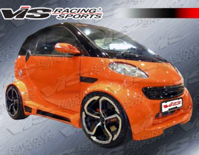 ForTwo - Front Bumper - VIS Racing. - Smart ForTwo VIS Racing Max Widebody Front Lip - 08SMFR22DMWB-011