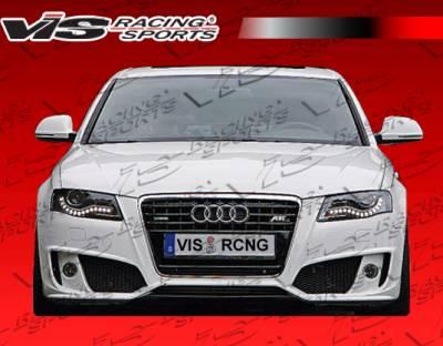 A4 - Front Bumper - VIS Racing - Audi A4 VIS Racing A Tech Front Bumper - 09AUA44DATH-001