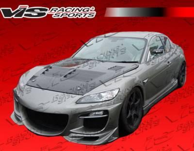 RX8 - Front Bumper - VIS Racing - Mazda RX-8 VIS Racing Razor Front Bumper - 09MZRX82DRAZ-001