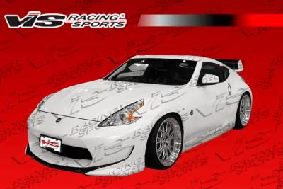 370Z - Front Bumper - VIS Racing - Nissan 370Z VIS Racing AMS Front Bumper - 09NS3702DAMS-001
