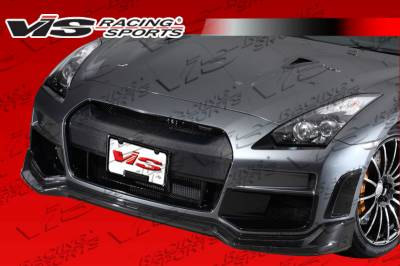 Skyline - Front Bumper - VIS Racing - Nissan Skyline VIS Racing TKO Front Bumper - 09NSR352DTKO-001